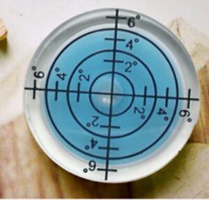 32 Mm Petit Rond Bleu Niveau à Bulle Multi Usage Bulls Eye Cross Bl Uk-afficher Le Titre D'origine