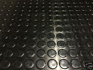 Brillant 1 M (mètres) Noir Anti Dérapante Shed Van Garage Atelier Caoutchouc Sol Nattes Rol-afficher Le Titre D'origine