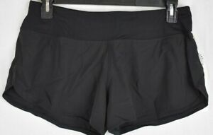 Vuori Womens Black Omni Performance Shorts Size Small