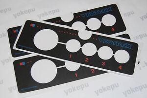 Milton-Bradley-Vectrex-controller-replacement-sticker-decal-for-repair-EU-ver