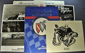 1989 Buick Motorsports Press Release V-6 Stage II Turbo, Indy Race Car Original