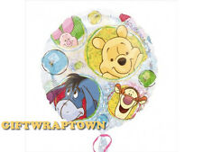 WINNIE THE POOH HOLOGRAPHIC CLEAR BALLOON EYORE PIGLET TIGGER PARTY HELIUM