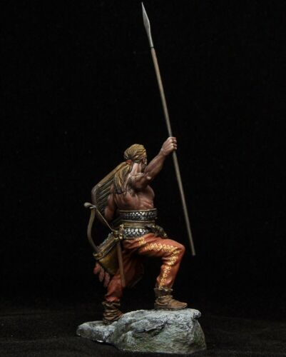 Scythian warrior with a spear Tin Painted Toy Soldier Pre-OrderArt Quality