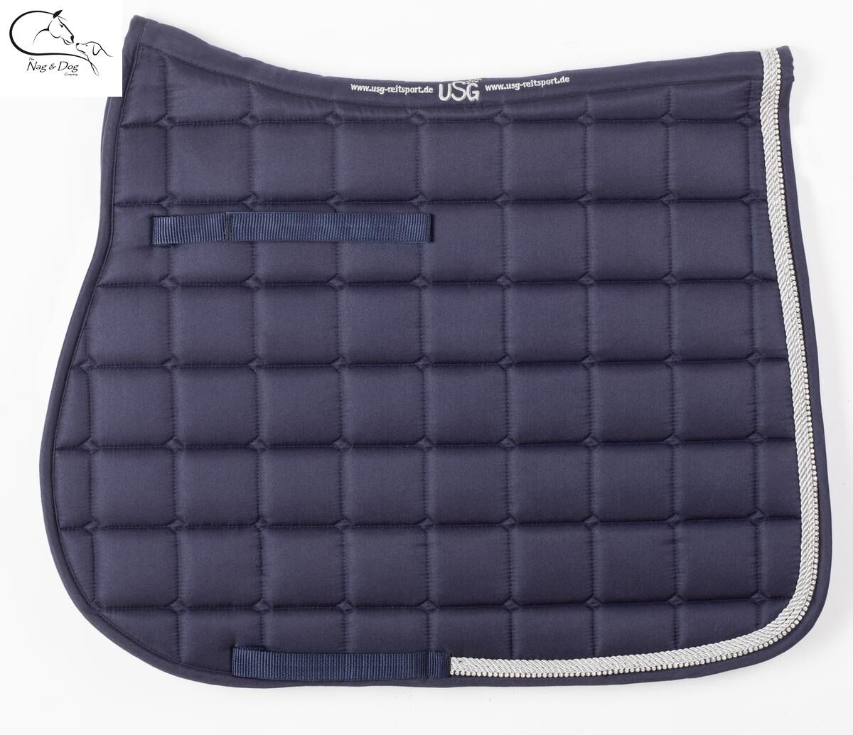 USG baroness Saddlecloth - Quilted saddlecloth & with double rope & saddlecloth crystals horse 39db37