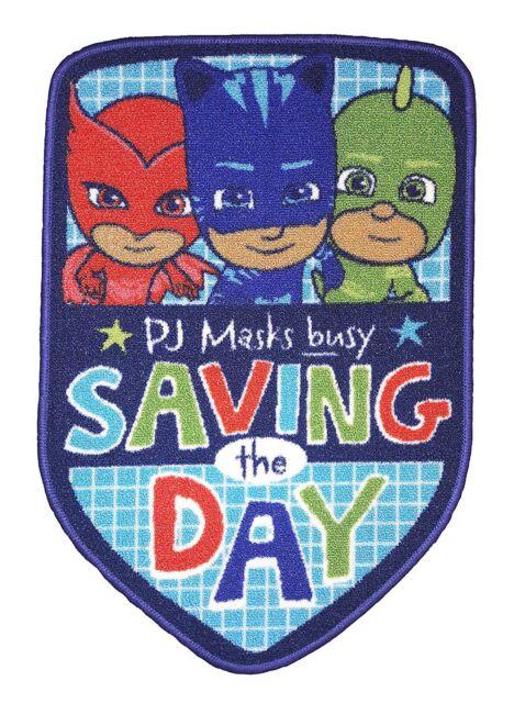 EXTRA LARGE - New PJ Masks Save The Day Rug Kids Girls Boys Bedroom Playroom Mat