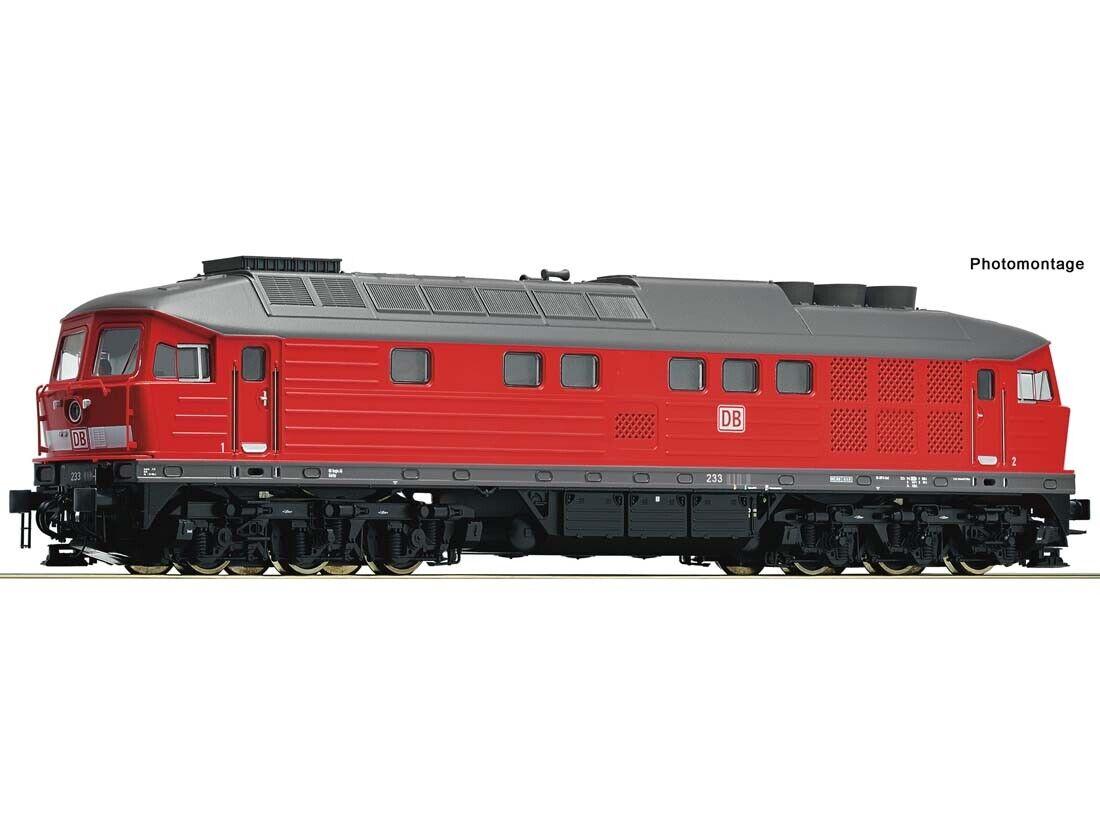 ROCO 52496 DIESEL BR 233 DB AG h0