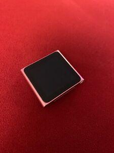 Apple Ipod Nano 6th Generation Gen Pink 8gb Battery Died Ebay