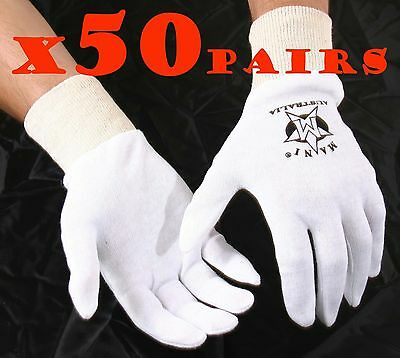 10 PAIRS BOXING 100/% COTTON INNERS GLOVES   available in M,L,XL