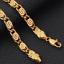 18k-Gold-Kette-Armkette-21cm-Schmuck-Koenigskette-Armband-Herren-Damen-vergoldet Indexbild 4