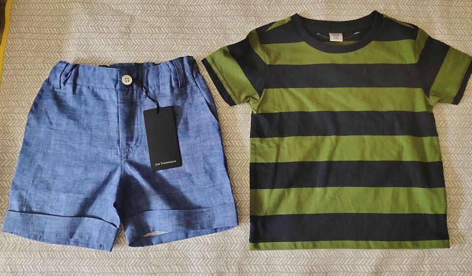 Shorts, Shorts og t-shirt, Jim Thomson