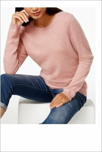 100 Nwt Xl M Crew Bella Cashmere Sweater 139 Heather Neck Club Rose Charter PrqEwfP