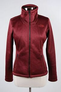 The North Face Burgundy Poly Blend Women's Fleece Lined ...