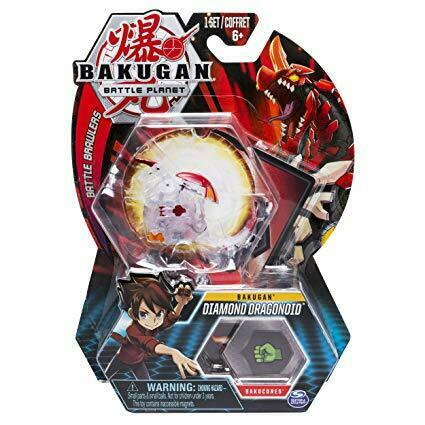 Bakugan slåss plant Diamond drakeoid Action Figur