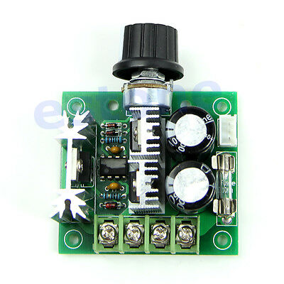 New 12V-40V 10A Pulse Width Modulator PWM DC Motor Speed Control Switch Governor
