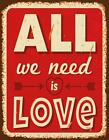 All we need is Love Blankbook (2015, Gebundene Ausgabe)