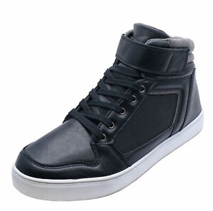 MENS-SMART-BLACK-LACE-UP-TRAINER-COMFY-SMART-CASUAL-BOOTS-SHOES-PUMPS-SIZES-6-12