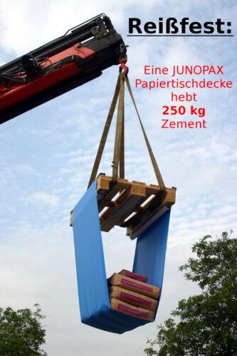 0,62€//m  50m x 1,15m Feuerwehr 112 JUNOPAX Papiertischdecke Einweg Tischtuch