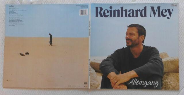 REINHARD MEY LP: ALLEINGANG (D;Intercord – INT 160.208)