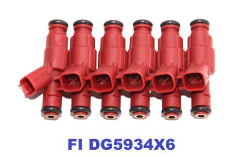 For 97-03 Dodge Dakota //00-03 Dodge Ram 1500 Van V6 3.9L 6Pieces Fuel Injectors