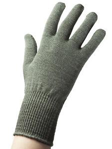 edc79065d624d6 Das Bild wird geladen Edz-Merino-Wolle-Thermische-Auskleidung-Handschuhe -Gruen