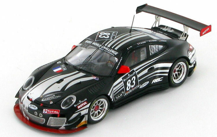 Porsche 911 (997) GT3 R équipe SMG Spa 24hrs 2013 1 43 - SB043