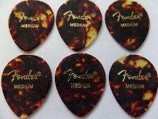 Fender 347 Shape Classic Celluloid Picks - Medium  6 Picks