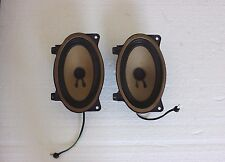 80-84 Mercedes W126 280 SE Front speakers left/right