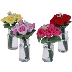 1-12-Doll-House-miniature-potted-plant-flowers-pot-dollHouse-decor-bonsai-mod-Fy