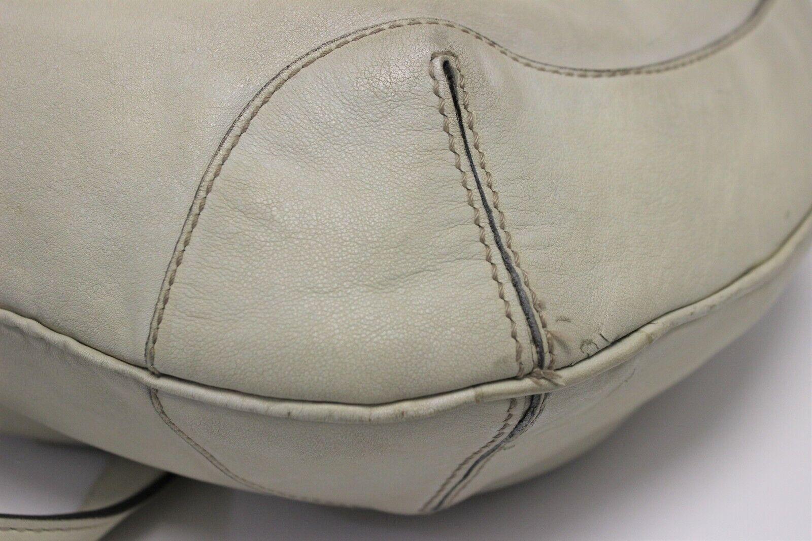 GUCCI Calfskin Peggy Bamboo Top Handle Hobo Bag -… - image 5