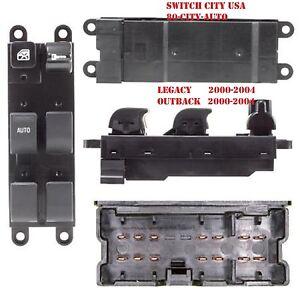 Oem subaru legacy outback baja master driver power window for 2000 nissan altima power window switch