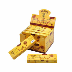 120-x-King-Size-Classic-Pre-Rolled-Cones-Rolling-Paper-AUTHENTIC-HORNET-3-Packs