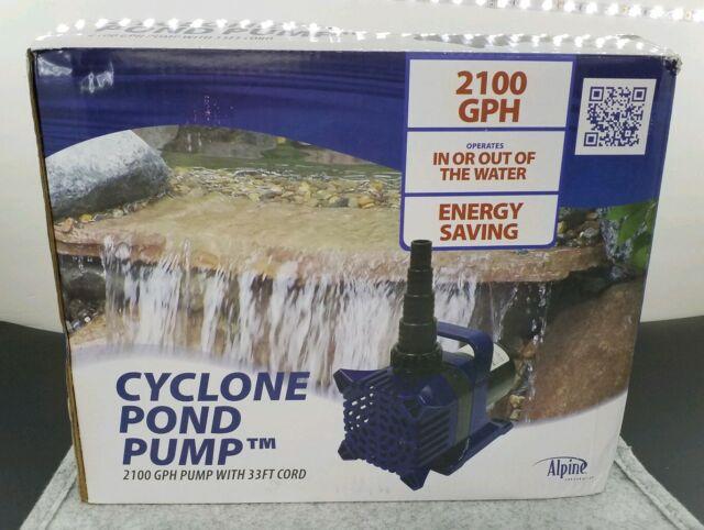 Alpine Cyclone 5200 GPH Waterfall /& Pond Pump PAL5200