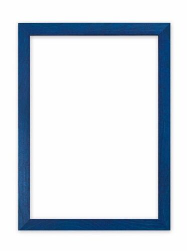Confetti Wood Frame Range 20 mm Picture Frame Photo Frame Poster Frame Blue A4
