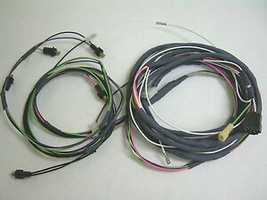 image is loading 1958-58-chevrolet-impala-rear-light-wiring-harness-