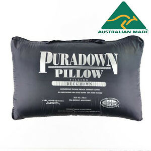 Puradown-Australian-80-Duck-Down-Standard-Size-Pillow-RRP-169
