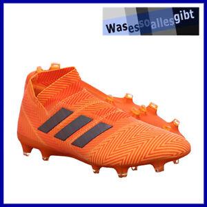 SCHNAPPCHEN-adidas-Nemeziz-18-FG-orange-schwarz-Gr-44-FU-8488
