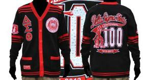 Delta Sigma Theta Sorority 100 Year Centennial Wool Cardigan Sweater
