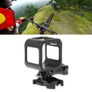 Low-profile Frame Mount Protective Holder For GoPro Hero Session 5 4 Camera UK*m