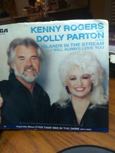 Kenny Rogers Dolly Parton Islands In The Stream VG