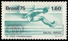 BRAZIL 1421 (Mi1517) - Joao Carlos de Oliveira's World Record Triple Jump (pa740