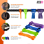 thumbnail 3 - Shapex Pull up Bands-Heavy Duty Set of Pull up Workout Bands, Perfect Resistance