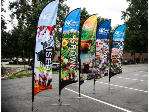 Custom Printing Sail Flag Feather Flag Banner Outdoor Flag Banner