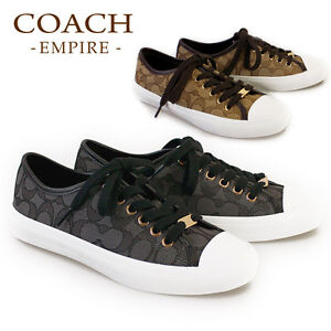 NWB-Coach-Coach-Empire-Women-039-s-Signature-Tennis-Sneakers-Size-6-7-8-MSRP-110