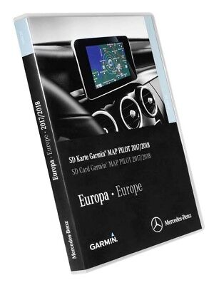 GPS Update SD Card Garmin Map Pilot Mercedes W213 2017/2018 W238/Vito