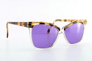 GIANNI-VERSACE-Vintage-Sonnenbrille-Mod-414-770-54-14-140-Versus-Case-Lila-NOS