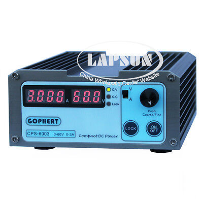 Precision Compact DC 60V 3A Adjustable Digital Switching Power Supply 110-220V