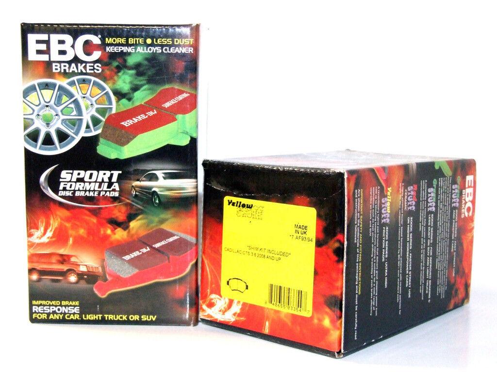 EBC DP41639R YELLOWSTUFF ULTIMATE RACE BRAKE PADS REAR