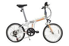 Allen Sports Central Aluminum Folding Bike with Suspension - 7 Speeds