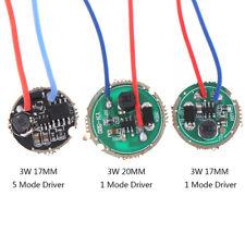 1pc 3w Led Driver 17mm20mm Dc37v 1 Mode 5 Mode Led Flashlight Drive Fj