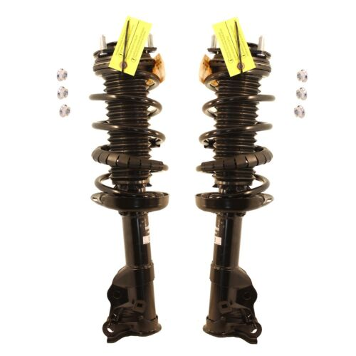 NEW Pair Set of 2 Front KYB Suspension Strut and Coil Spring Kit For Honda Civic